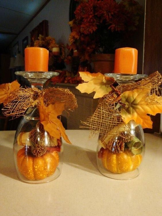 Then there is the fun of creating a holiday center  ~ 115403_Qvc Thanksgiving Decorations