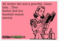 ...Then Red Sox Baseball Season Started