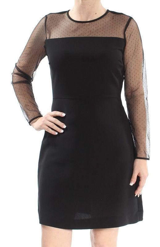 MAISON-JULES-Womens-Black-Lace-Long-Sleeve-Illusion-Neckline-Above-The-Knee-Sheath-Cocktail-Dress-Size_-S.jpg