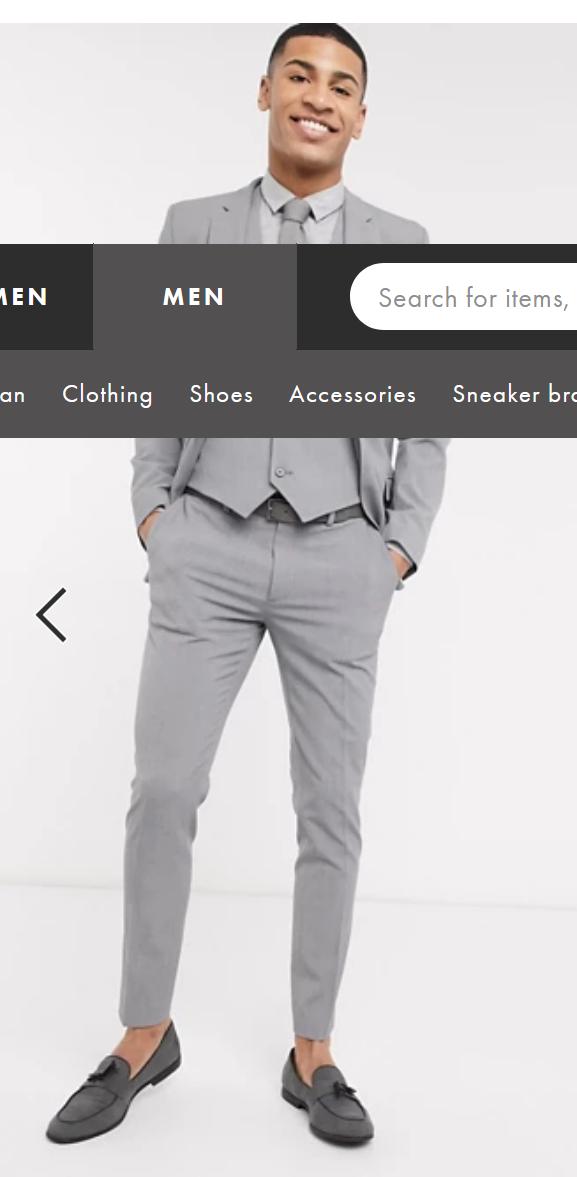 Screenshot_2021-02-27 ASOS DESIGN super skinny suit pants in four way stretch in mid gray ASOS.png