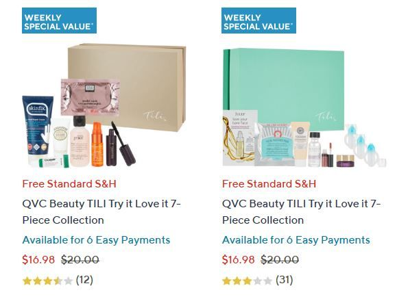 TILI Beauty Boxes Weekly Special - Blogs & Forums