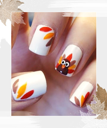Fall Thanksgiving Nail Art Nailarts Ideas