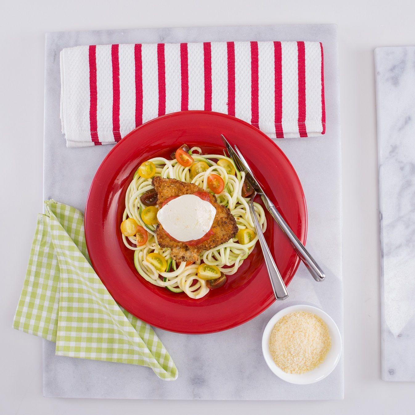 Chicken parm zoodles blogs forums for Zoodles kitchen set